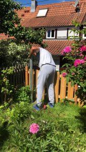 Garten der Kinderbetreuung in RenGarten der Kinderbetreuung in Renningen Malmsheimningen Malmsheim