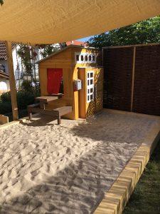Kinderbetreuung Renningen Malmsheim Heidestr. 14 Garten