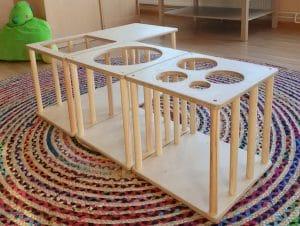 Bild Pikler-Labyrinth Spielmöbel Kinderbetreuung