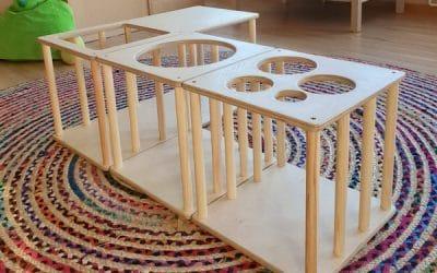 Pikler-Labyrinth – Spielmöbel zur selbstständigen Entwicklung der Bewegung